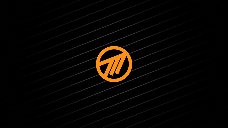 Orange Method Logo Desktop Wallpaper