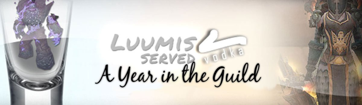 Luumis Served Vodka: A Year in the Guild