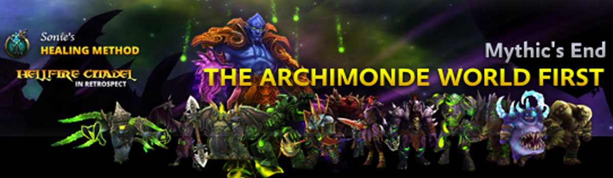 Healing Method: Mythic's End - The Archimonde World First