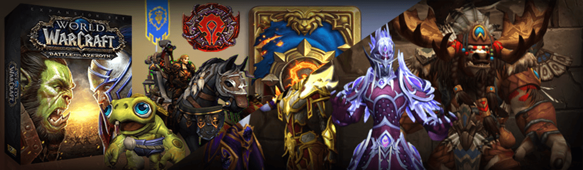 Battle for Azeroth Pre-Purchase & Unlock Allied Races Today