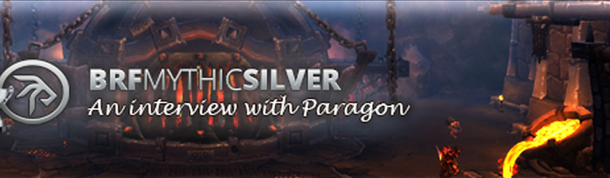Mythic Silver: A Post-BRF Interview with Paragon
