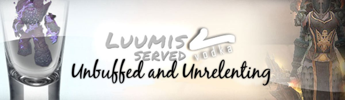 Luumis Served Vodka: Unbuffed and Unrelenting