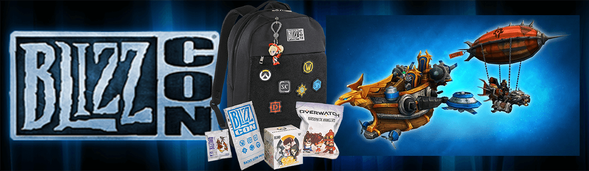 BlizzCon 2017 Goodie Bag + Digital Items