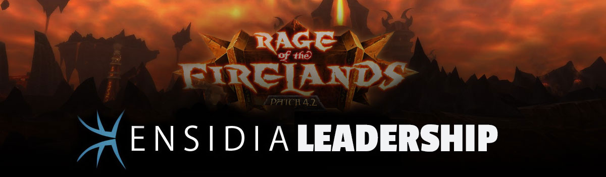 The Mancy Diaries: Ensidia Leadership Post-Firelands