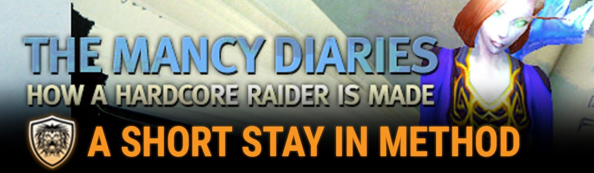 The Mancy Diaries: A Short Stay in Method - The Final Entry