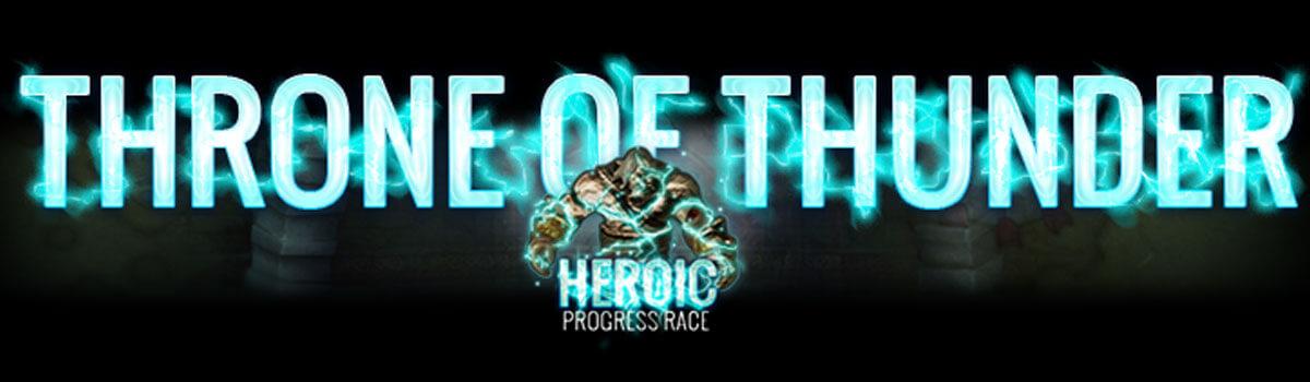 Throne of Thunder Heroic Progress Coverage