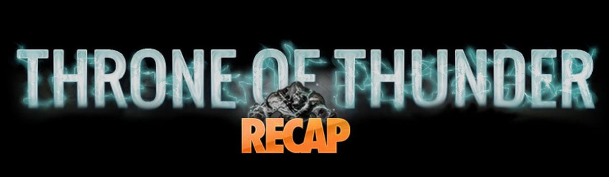 The Warm Up: Throne of Thunder Heroic Race Recap
