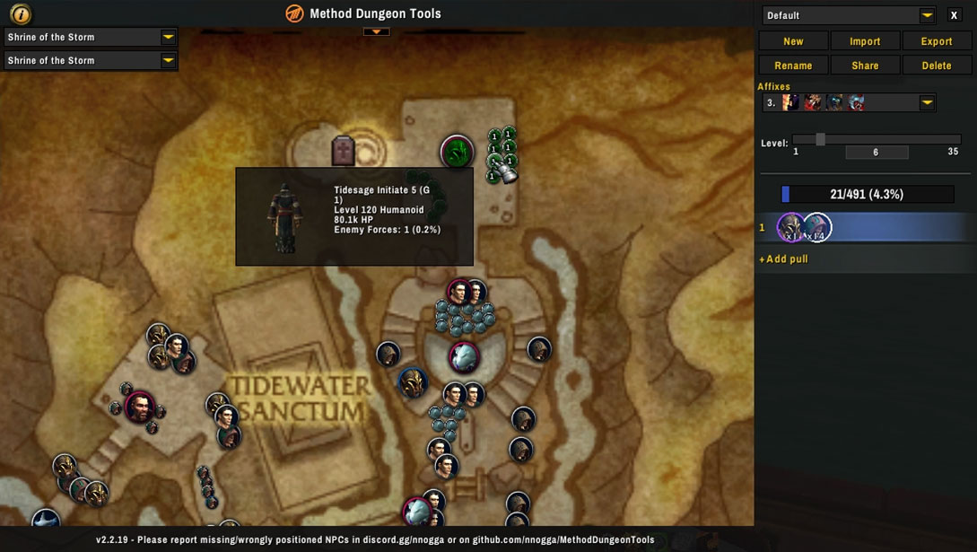 Method Dungeon Tools - Mythic Plus planning addon
