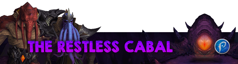 The Restless Cabal Mythic Raid Leaderboard