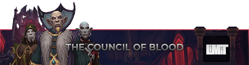 The Council of Blood Mythic Raid Leaderboard