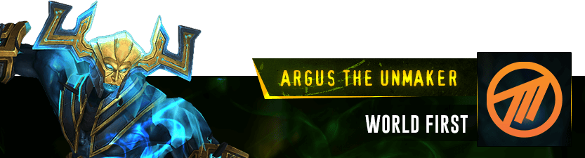 Argus the Unmaker Mythic Raid Leaderboard