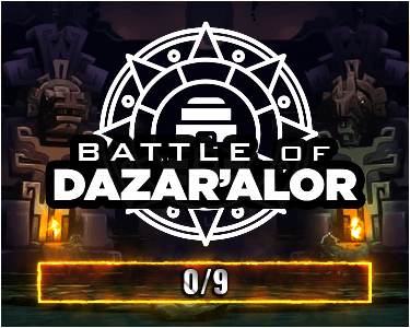 Battle of Dazar'alor Raid Race home thumbnail